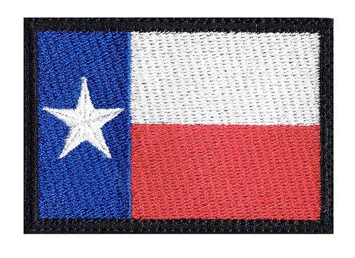 Texas Full Flag - Velcro Back