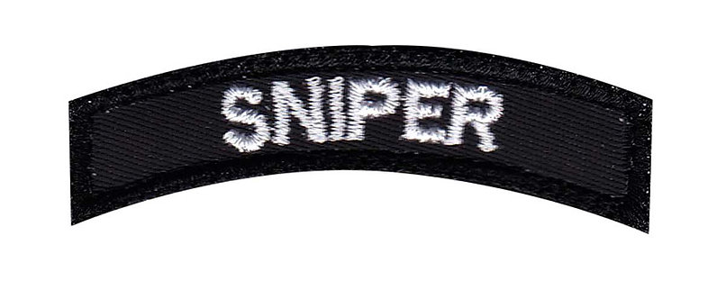 Sniper Small Rocker - Velcro Back