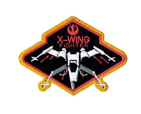 X-Wing Figher Pilot Star Wars - Glue Back To Sew On