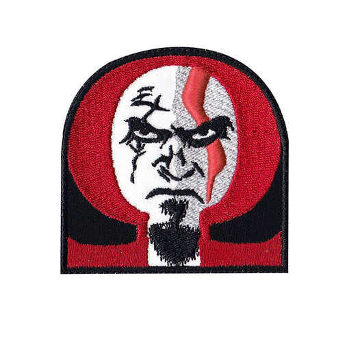 Kratos God Of War Gow Omega - Glue Back To Sew On