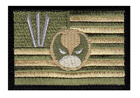Wolverine US Claw Flag - Velcro Back