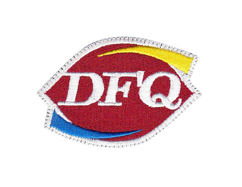 Dfq Dafuq? What The F Dairy Queen Parody - Velcro Back