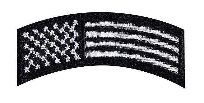 US Flag Rocker - Velcro Back
