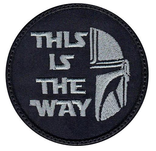 This Is The Way Mandalorian Half Helmet - Velcro Back