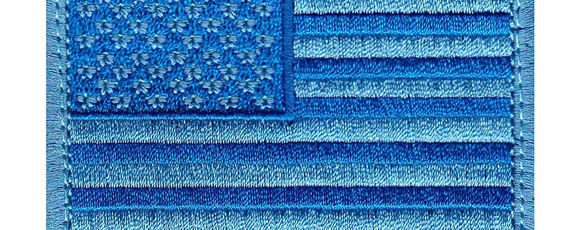 United States Flag Us Flag - Velcro Back