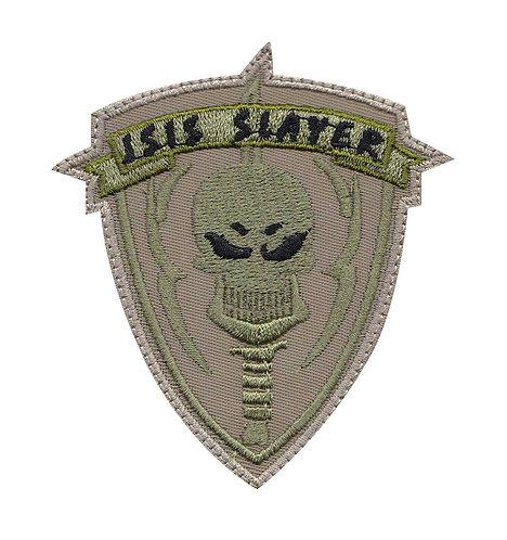 Anti Terrorism Skulls And Flags - Velcro Back