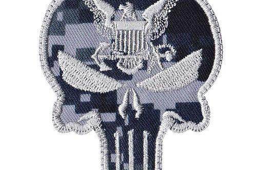 Punisher Skull Usn Eagle - Velcro Back