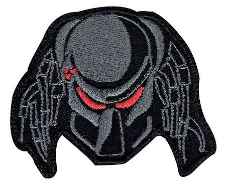 Predator Head Hunting Laser Beam - Velcro Back