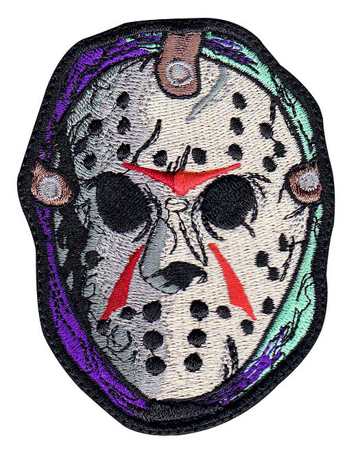 Jason Voorhees Horror Movie Friday 13Th - Glue Back To Sew On
