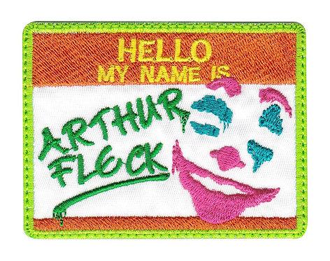 Arthur Fleck Clown Joker - Velcro Back