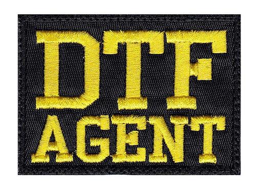 DTF Agent ATF FBI DEA Parody Funny - Velcro Back