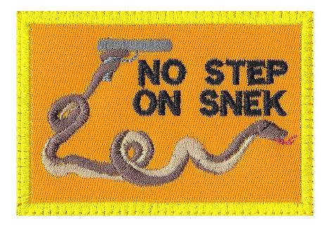 No Step On Snek Gun 2Nd Amendment Don't Tread - Velcro Back