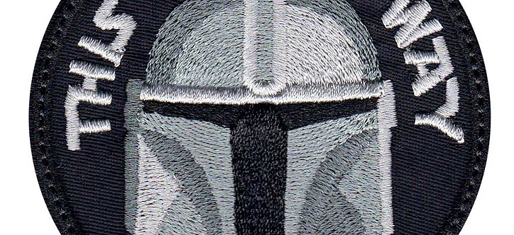 Mandalorian This Is The Way Full Helmet - Velcro Back
