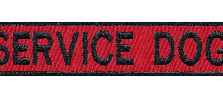 Service Dog Therapy Working Canine - Velcro Back