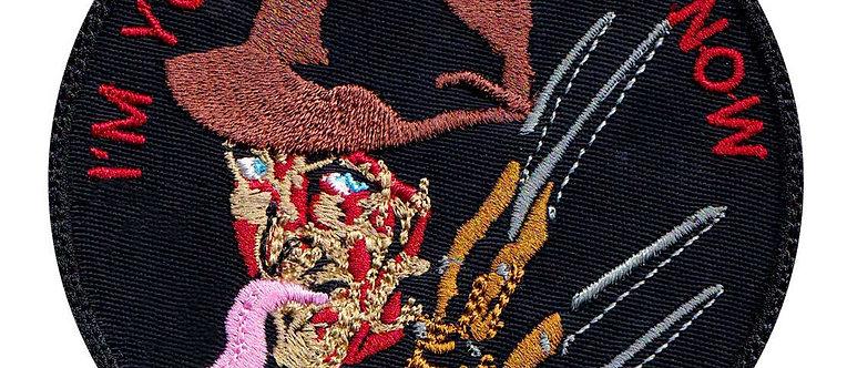 Freddy Nightmare On Elm Street Horror Movie - Velcro Back