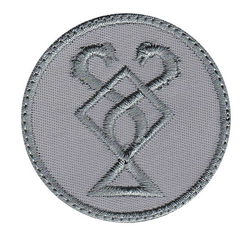 Huldra Coin God Of War Kratos - Velcro Back