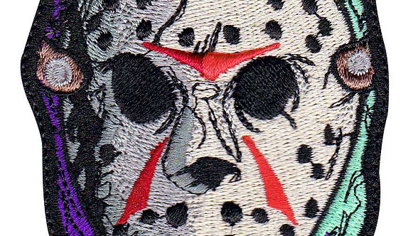 Jason Voorhees Horror Movie Friday 13Th - Velcro Back