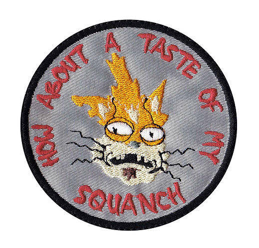 Squanch Taste Squanchy Rick And Morty - Velcro Back