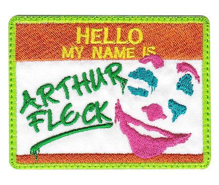 Arthur Fleck Clown Joker - Glue Back To Sew On