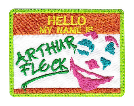 Arthur Fleck Clown Joker - Glue Back To Sew On