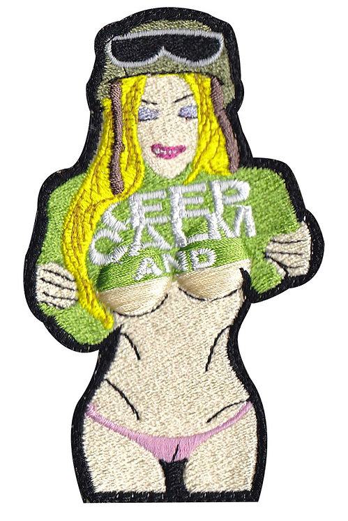 Keep Calm Camel Toe Sexy Girl - Glue Back To Sew On