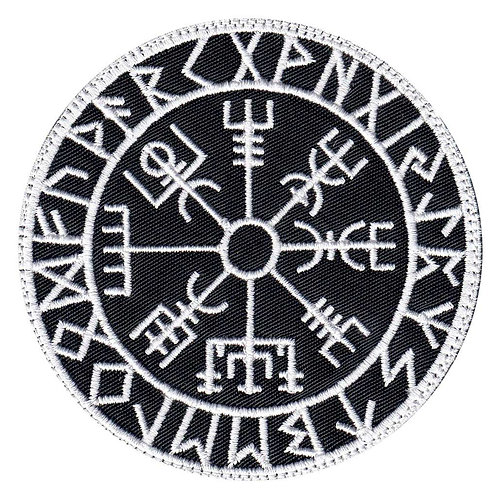 Viking Rune Calendar Circle - Velcro Back