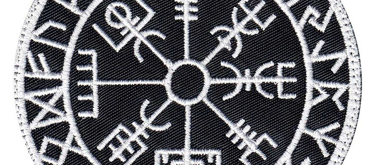 Viking Rune Calendar Circle - Velcro Back