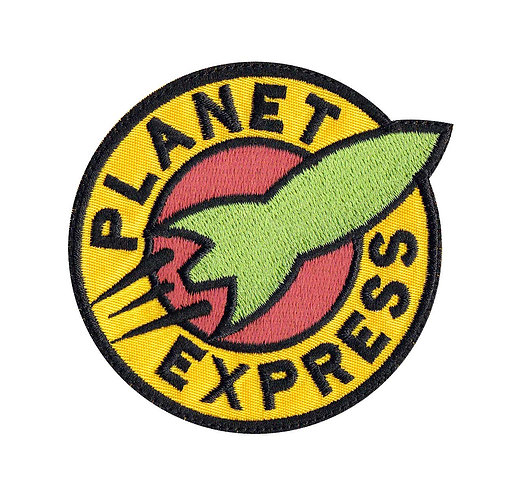 Planet Express Futurama - Velcro Back