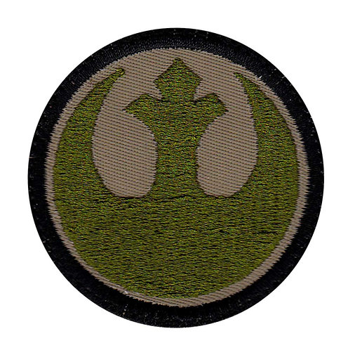 Rebel Alliance Logo Star Wars Inspired - Velcro Back