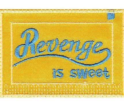 Revenge Is Sweet Splenda Packet - Glue Back To Sew On