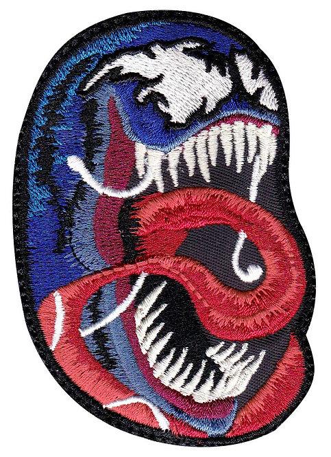Venom Tongue Real Head Eddie Brock - Glue Back To Sew On