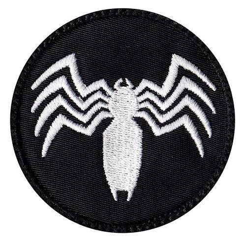 Venom Spider Shape Logo - Glue Back To Sew On