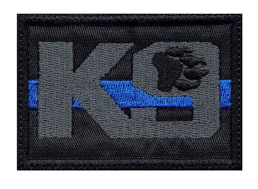 K9 Line Logo - Glue Back To Sew On