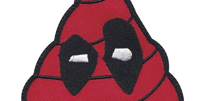 Deadpool Deadpoo Emoji Comic Parody - Velcro Back