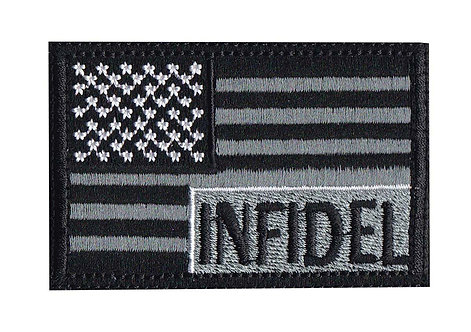 Infidel US Flag - Velcro Back
