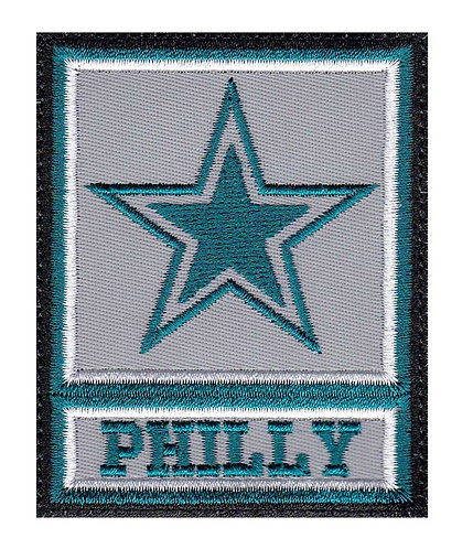 Philly Philadelphia Eagles Army Star - Velcro Back