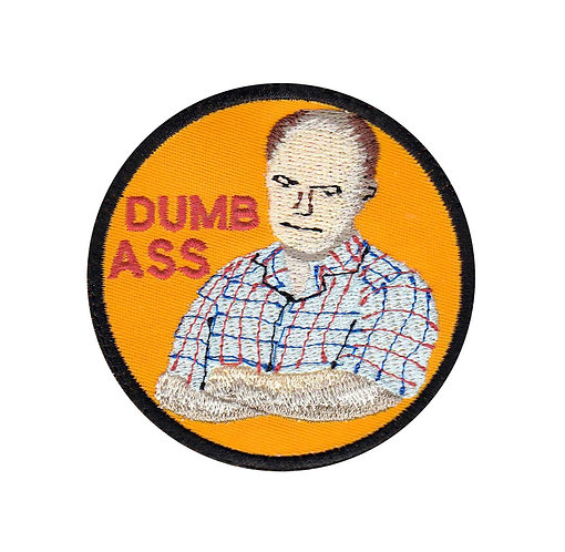 Red Forman Dumbass Badge 70S Show - Velcro Back