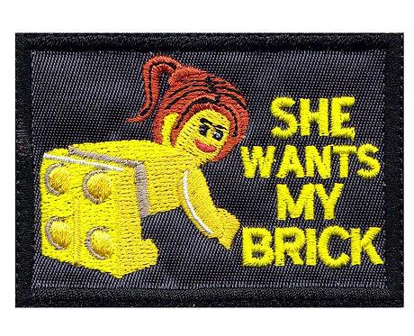 She Wants My Brick Lego Parody - Glue Back To Sew On