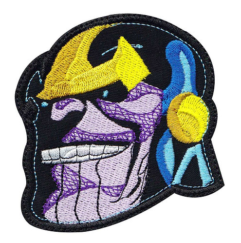 Thanos Head Avengers Infinity - Velcro Back