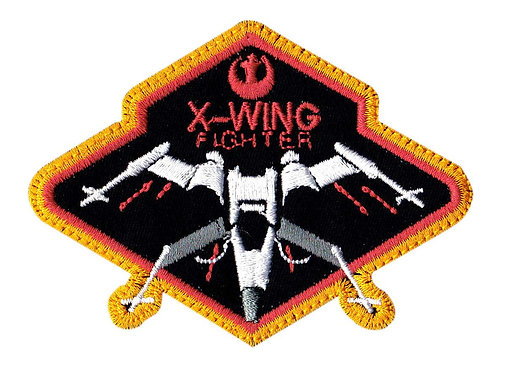 X-Wing Fighter Pilot Star Wars - Velcro Back