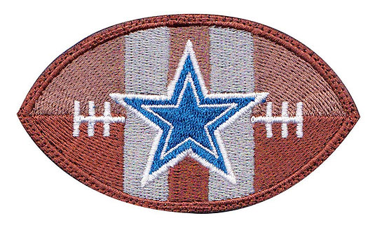 Dallas Cowboy Football Star - Glue Back To Sew On