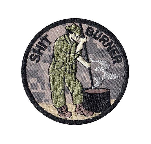 Shit Burner - Velcro Back