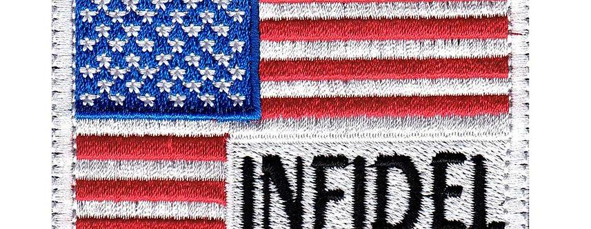 Infidel US Flag - Velcro Back
