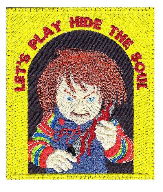 Chucky Childs Play Horror Movie - Velcro Back