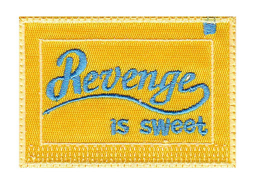 Revenge Is Sweet Splenda Packet - Velcro Back