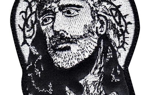 Jesus Looks Up Religious - Velcro Back