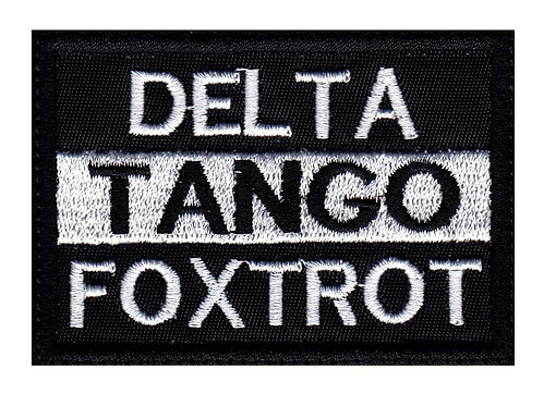 Deltago Foxtrot - Velcro Back