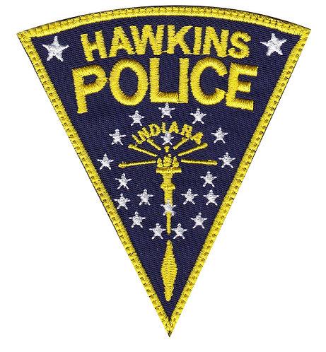 Hawkins Police Department Stranger Things - Velcro Back