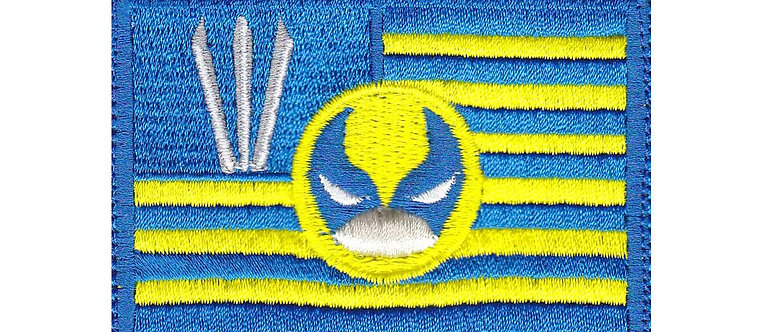 Wolverine Us Flag Claw - Velcro Back