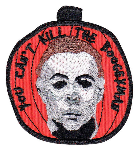 Michael Myers Halloween Pumpkin Horror Movie - Glue Back To Sew On